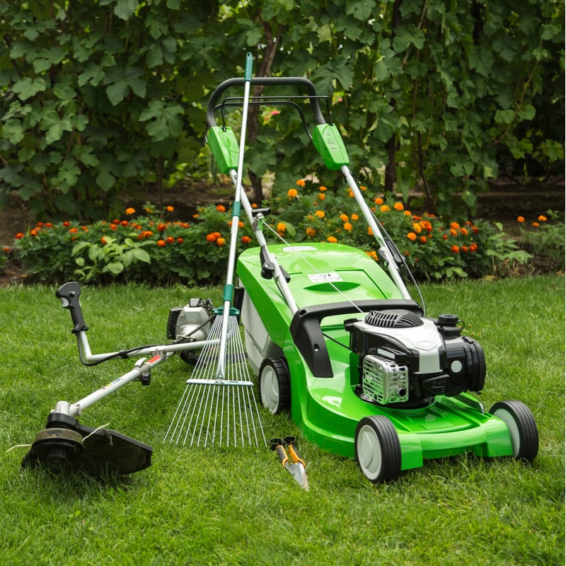 Proper fall lawn equipment maintenance will extend the life of your lawn equipment.